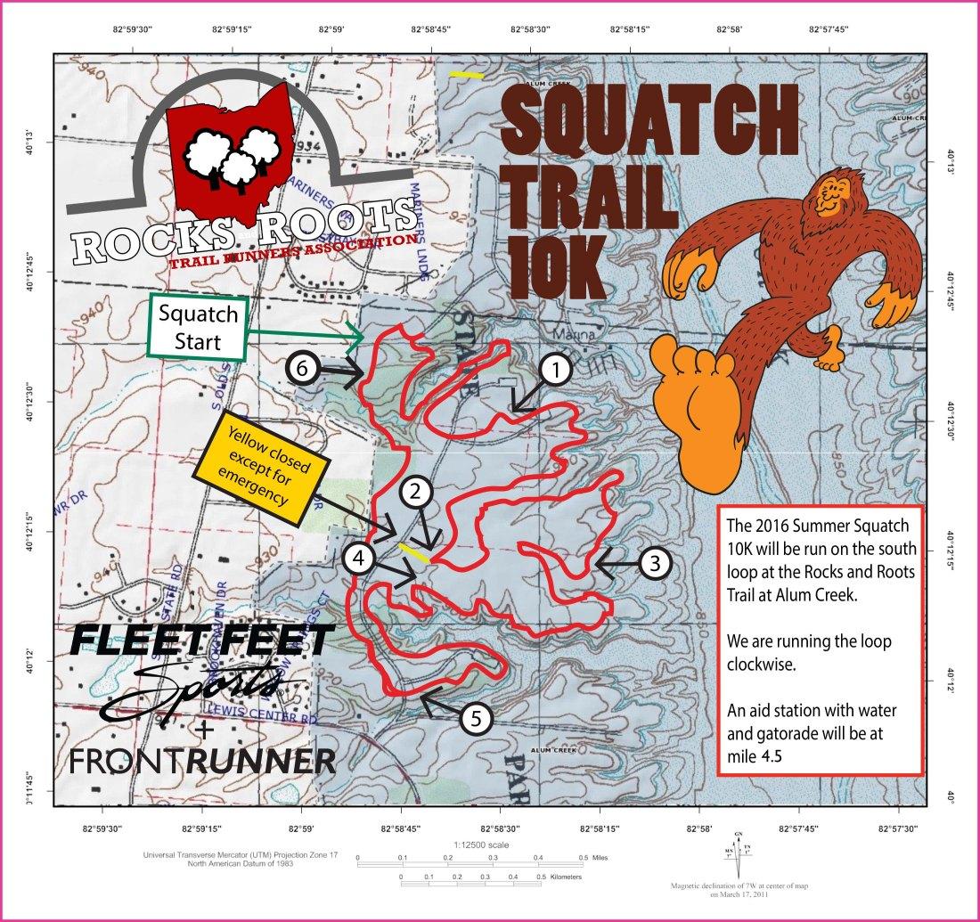 RRTRA TRAIL MAP Squatch 2016